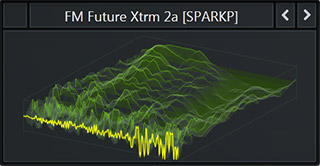 WaveTable called 'FM Future Xtrm' from Serum Preset Pack called Bass & Freaks. Genre: Future Bass