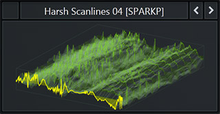 Serum WaveTable called 'Harsh Scanlines 4' from our Future Tech Pop Pack