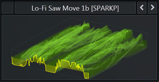 Serum WaveTable called 'Lo-Fi Saw Move 1b' that comes with our Free Serum Preset Pack