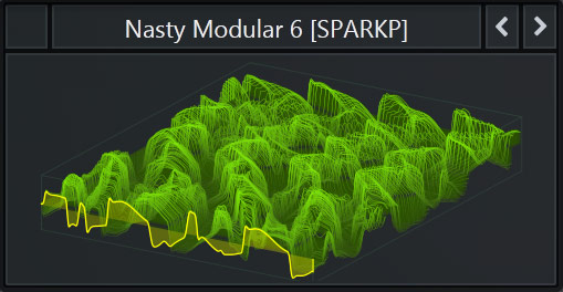 Serum WaveTable called 'Nasty Modular 6' that comes with SparkPackers Free Serum Preset Pack