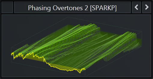 Serum WaveTable called 'Phasing Overtones' that is part of our Free Serum Preset Pack