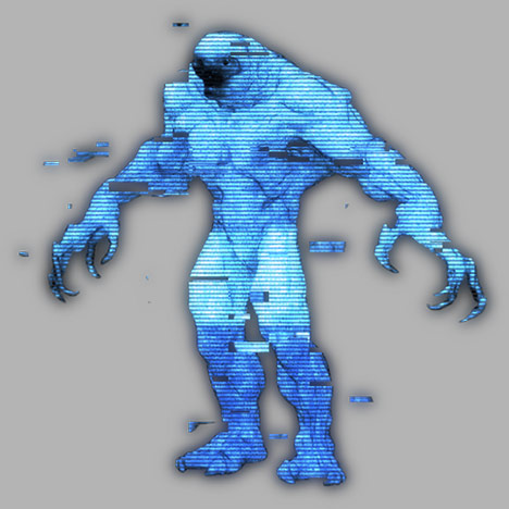 Cuddly mutant in low-res dancing to awesome music made with serum future bass presets taken from the pack Bass and Freaks