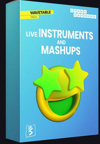 Acoustic natural Serum Wavetables - Virtual box of the pack called Live Instruments and Mashups