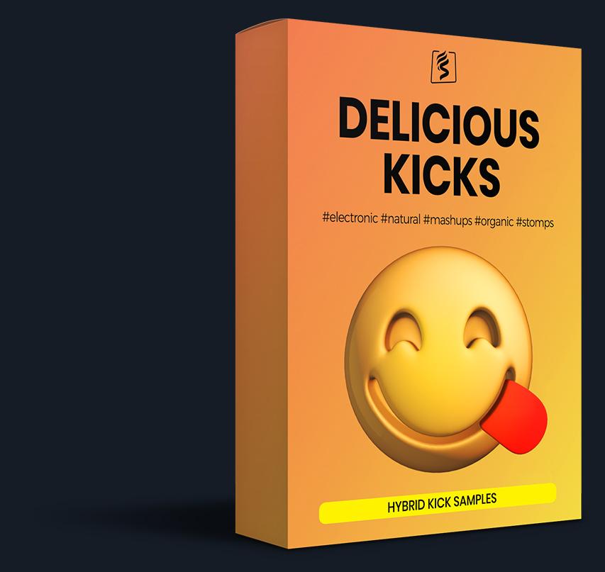 virtual box of the 'Delicious Kicks' pack