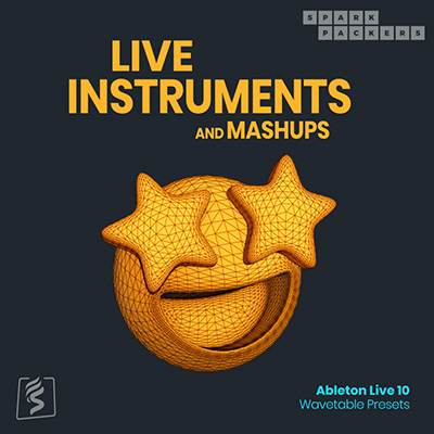 Virtual product cover image for ableton wavetable presets with acoustic live instruments for ableton live 10's wavetable synth