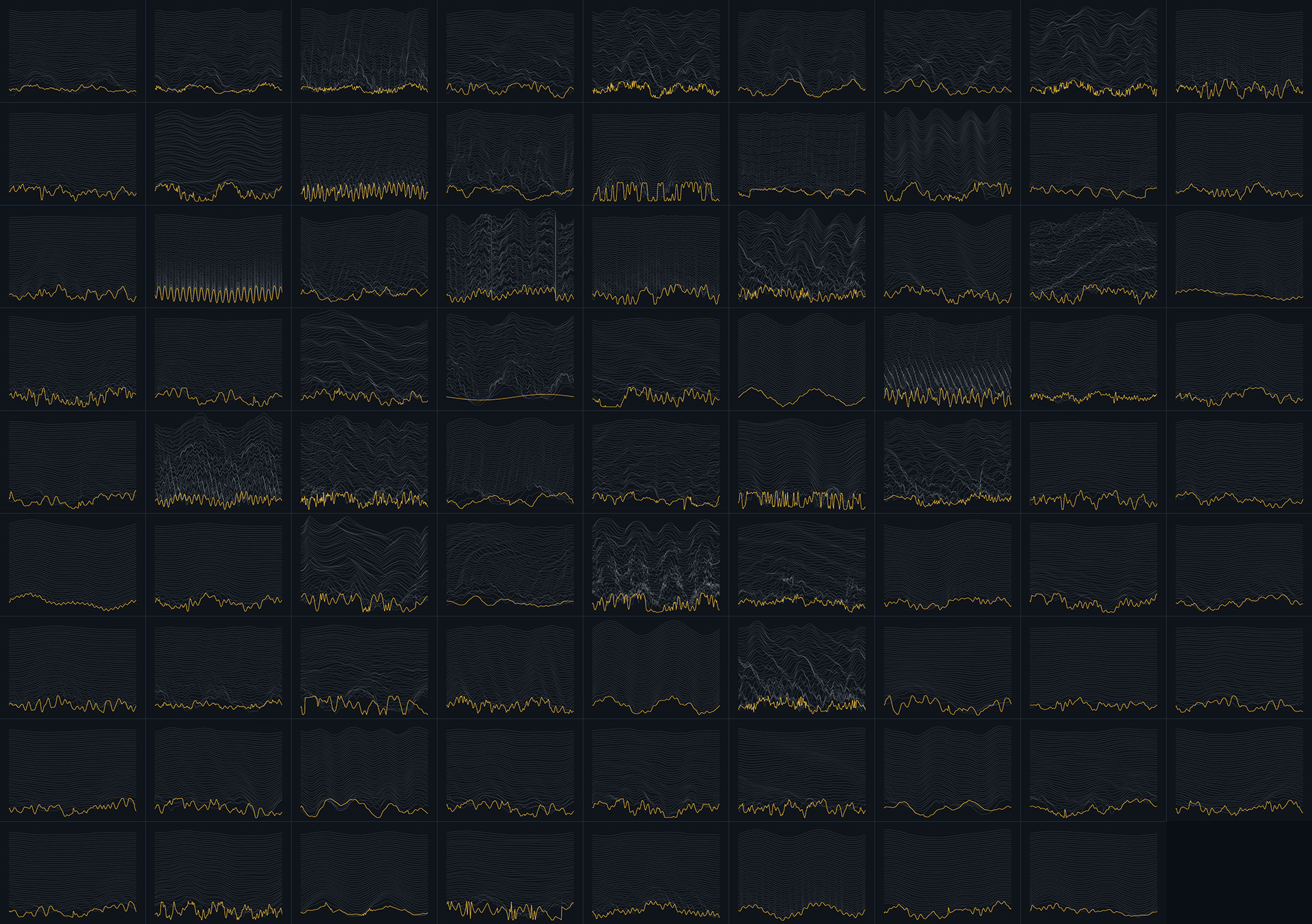 collage of custom made wavetables for ableton wavetable presets and screenshots of ableton wavetable synth's GUI