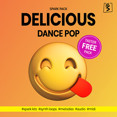 download free loops with this delicious dance pop taster spark pack