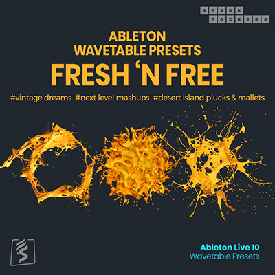 virtual cover image for sparkpackers free ableton wavetable presets