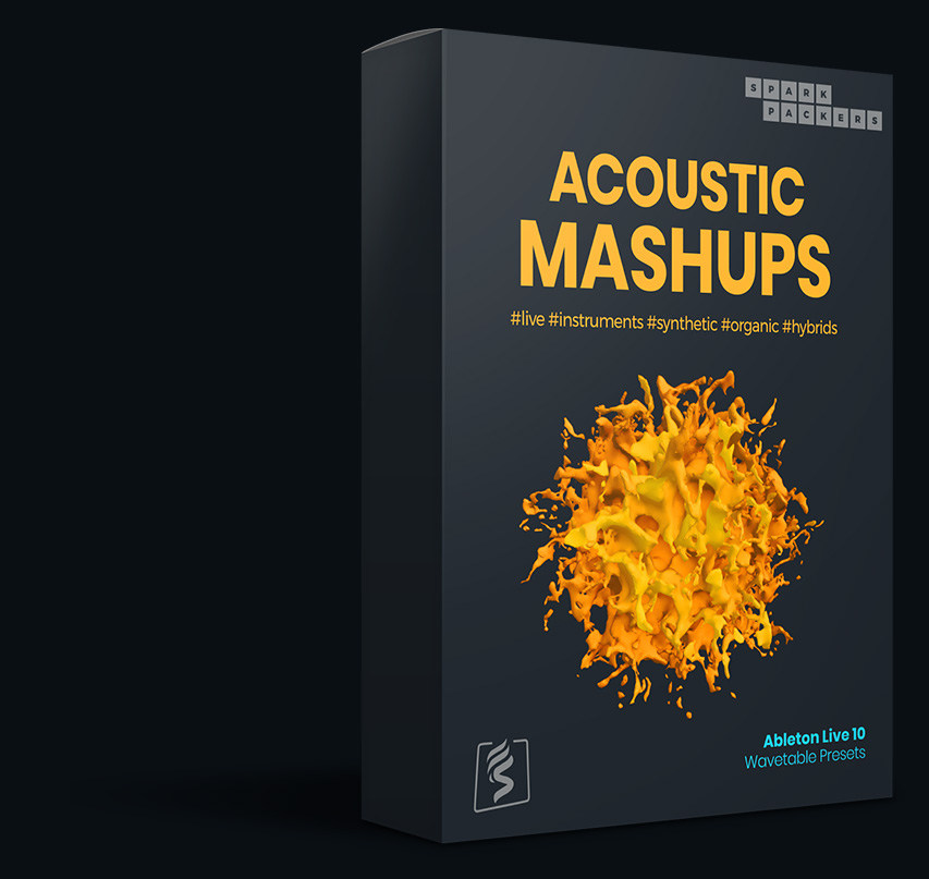 Acoustic Mashups is a Ableton Wavetable Presets pack with custom built wavetables and presets for ableton live 10 and this is the virtual box