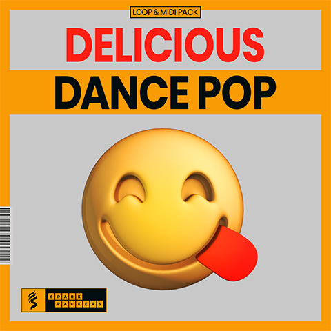 virtual cover for the loop and midi pack called delicious dance pop
