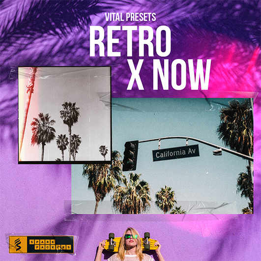retro x now is a sound bank for the wavetable synth vital with synthwave and lofi presets